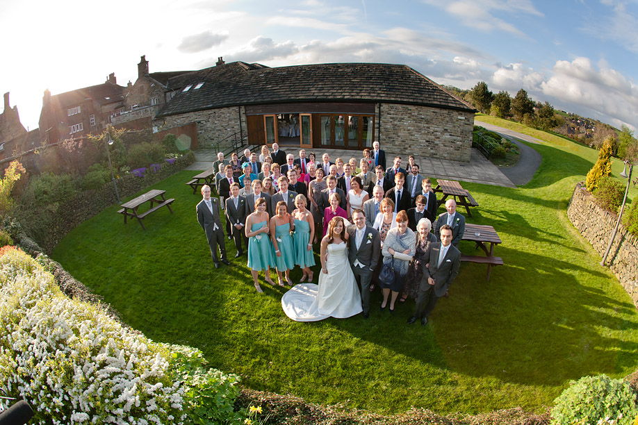 white hart wedding