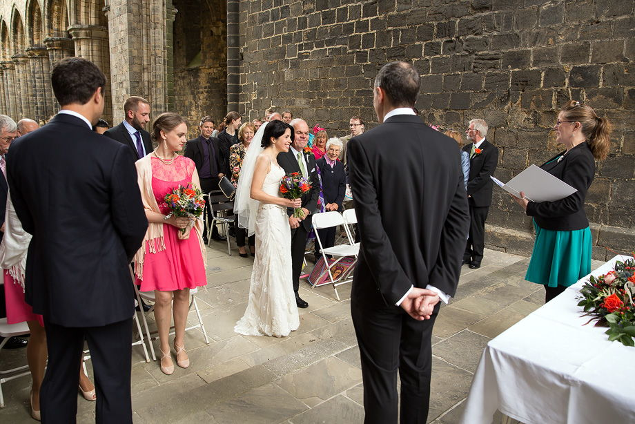 Kirkstall Abbey / Roundhay Park, Leeds wedding photography