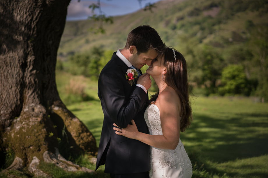 Llyn Gwynant Barns wedding photography
