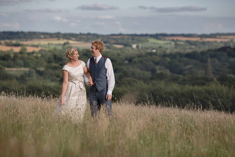 wedding photography on a farm